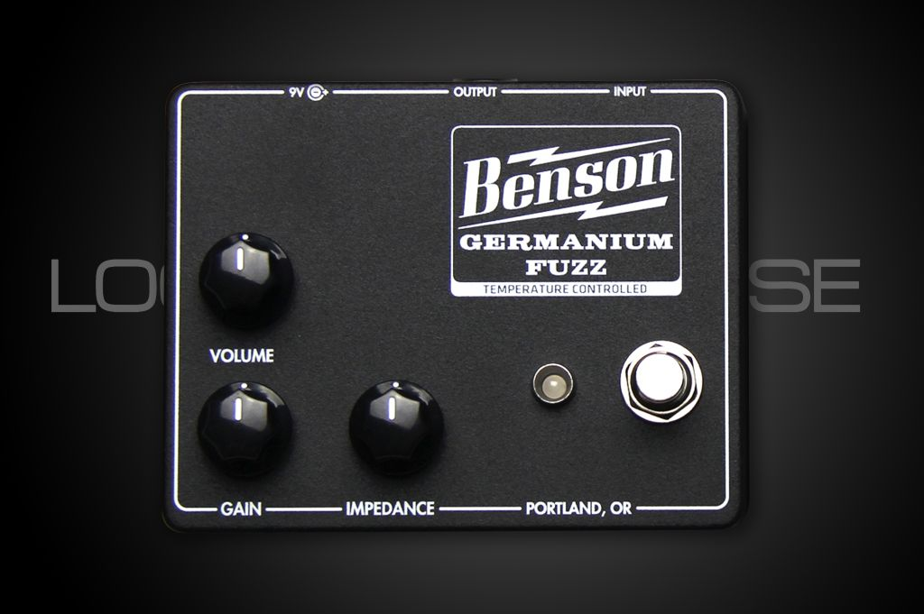 Benson Amps Germanium Fuzz Black