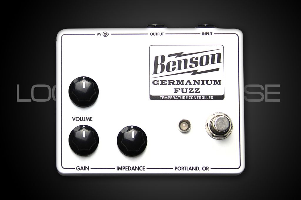 Benson Amps Germanium Fuzz White