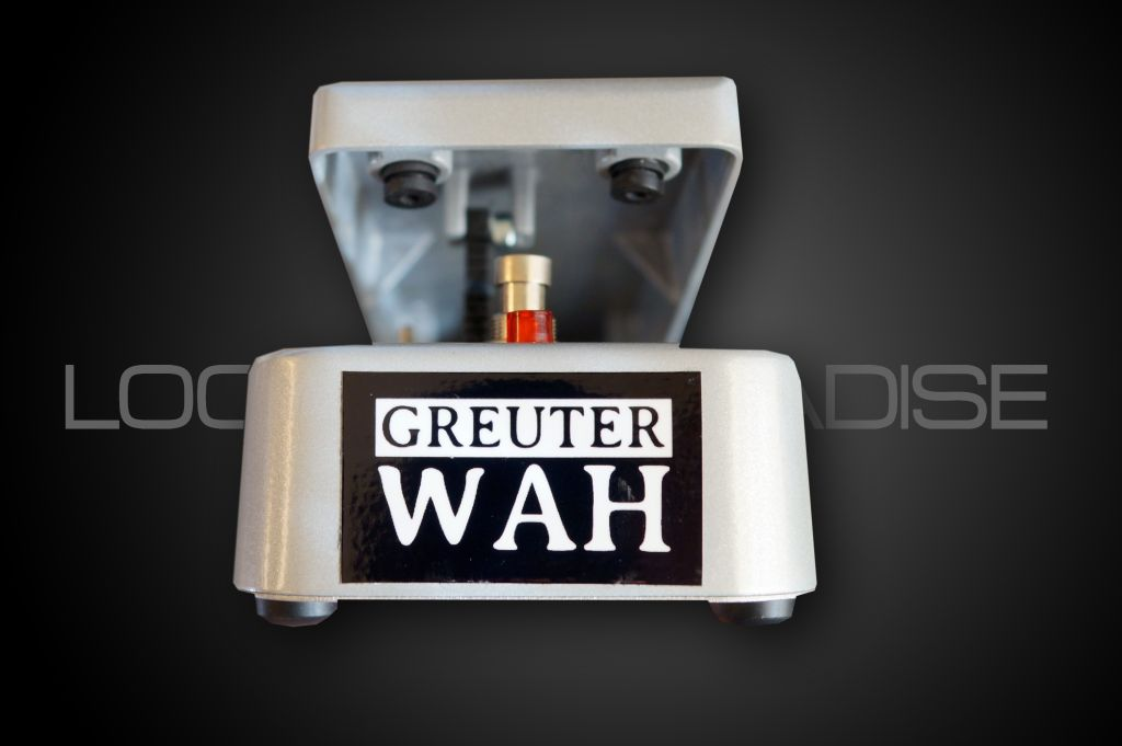 Greuter Audio Wah Classic Silver