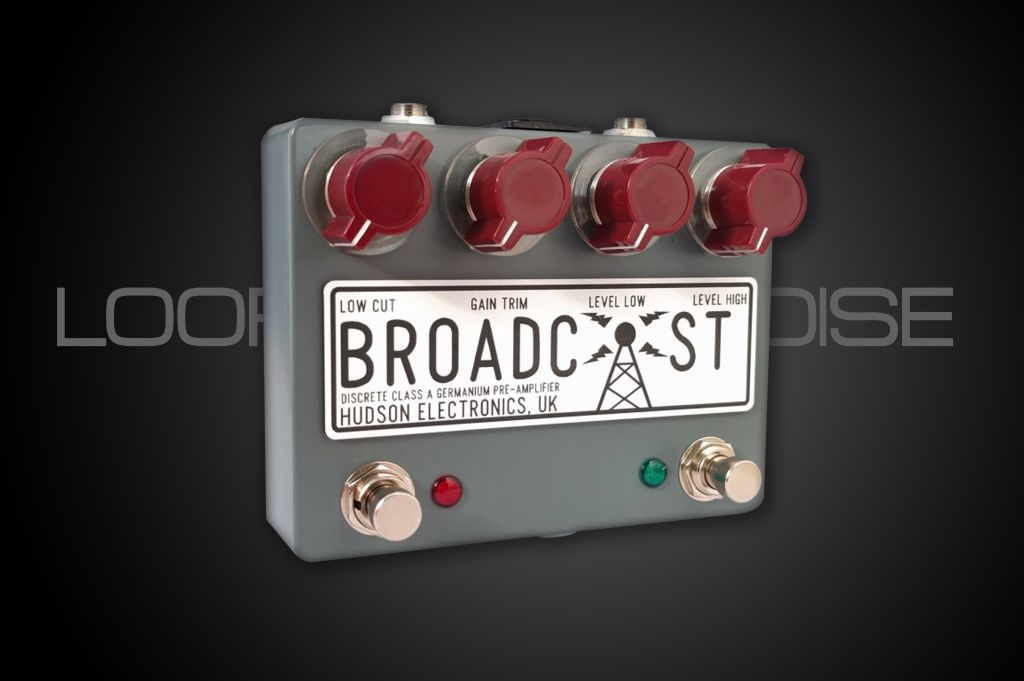 Hudson Electronics Broadcast Preamp - Dual Footswitch
