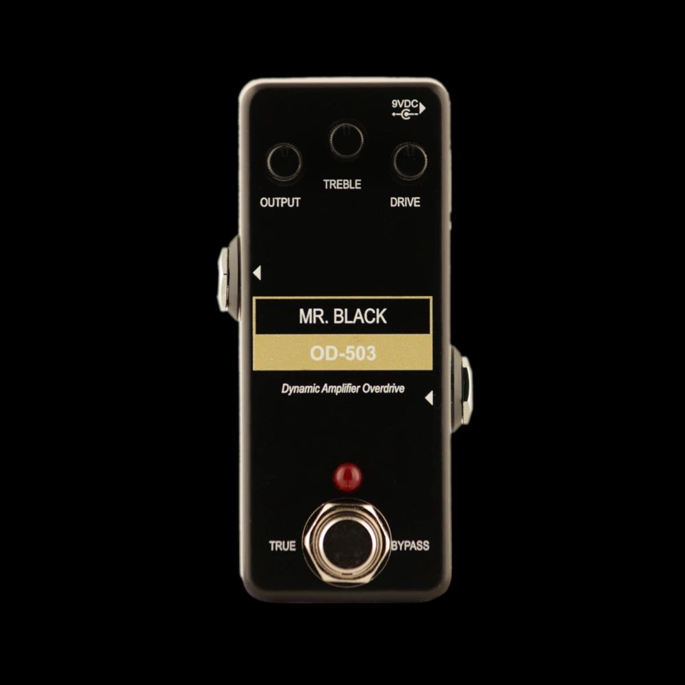 Mr. Black Pedals Mini OD-503