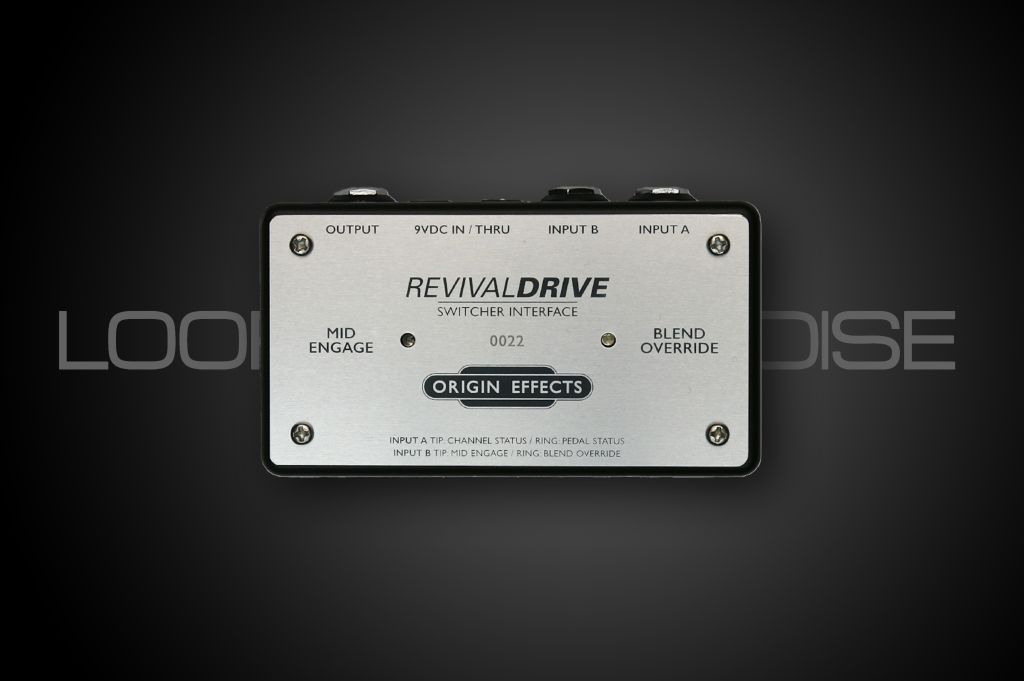 Origin Effects RevivalDRIVE Switcher Interface