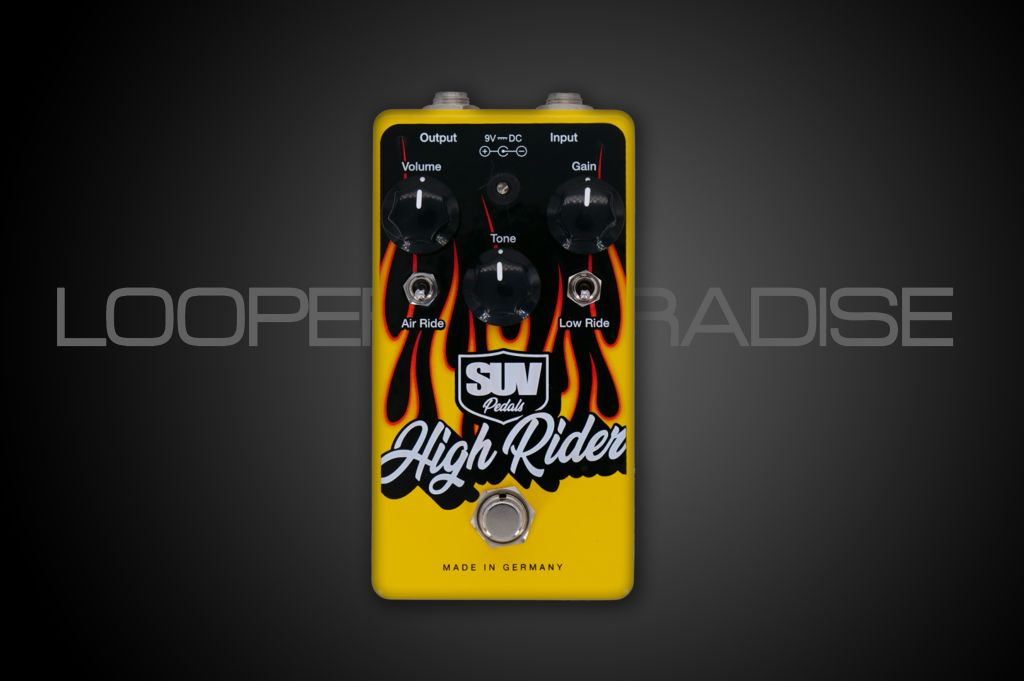 SUV Pedals High Rider LTD Yellow