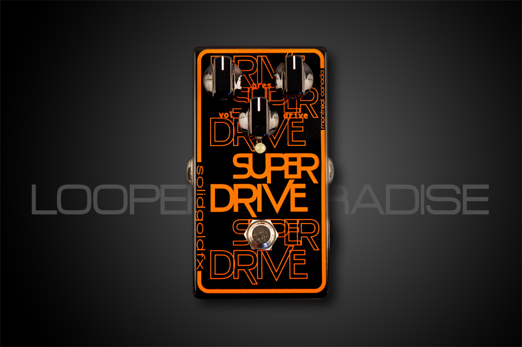 Solid Gold FX Superdrive Distortion