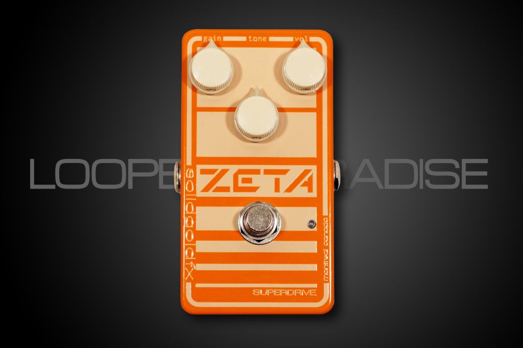 Solid Gold FX Zeta Overdrive
