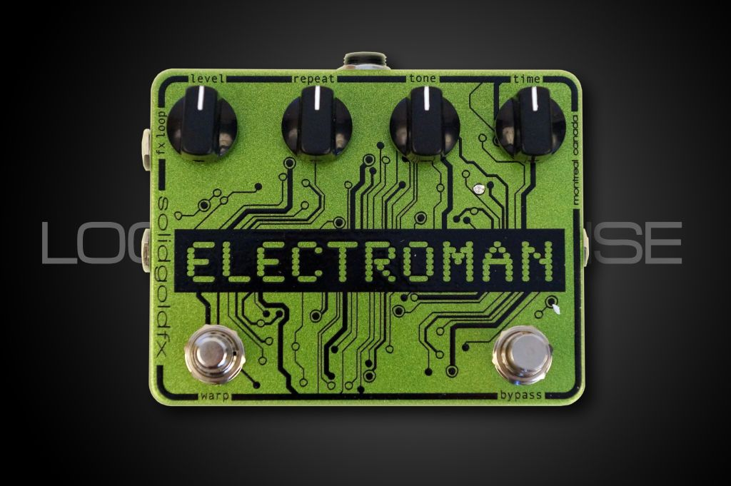 Solid Gold FX ElectroMan Delay