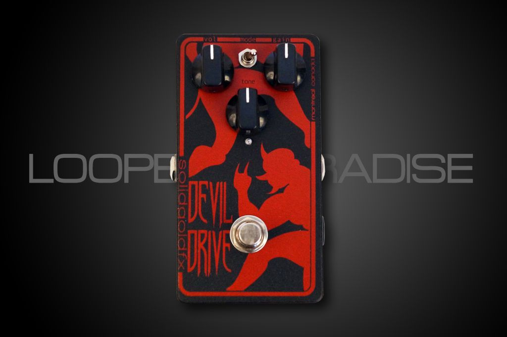 Solid Gold FX Jeff Waters Devil Drive Overdrive