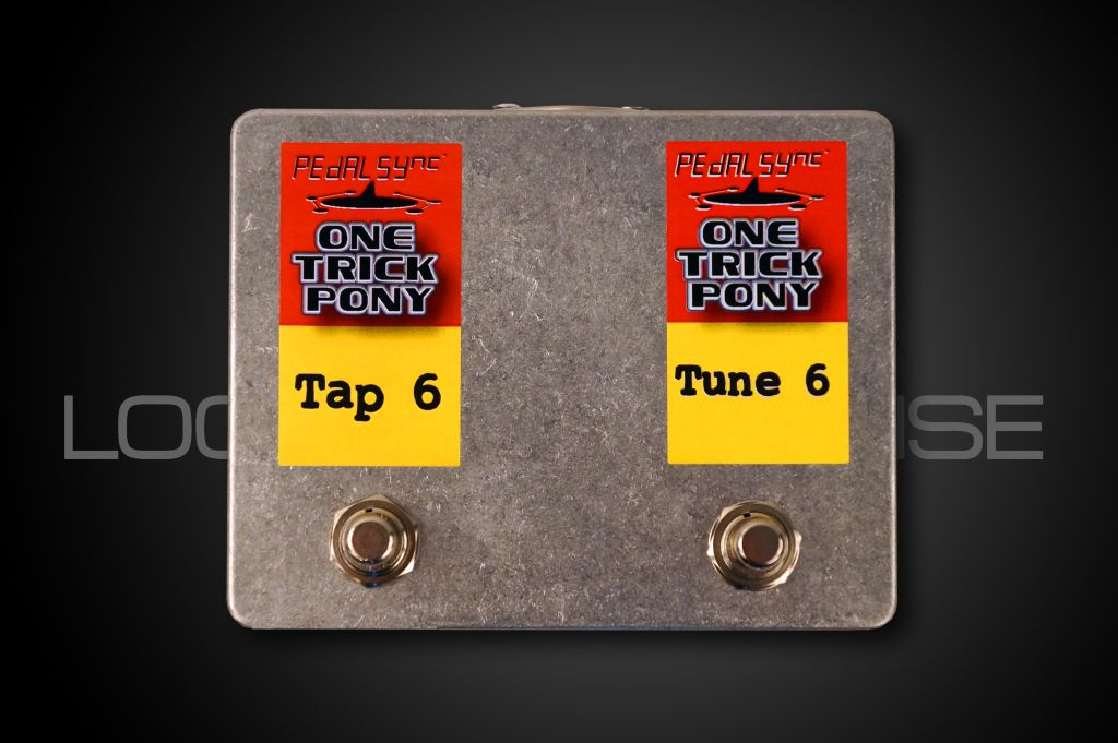 Molten Voltage PedalSync One Trick Pony - Tap-n-Tune - Line 6 Tempo and Tuner Controller