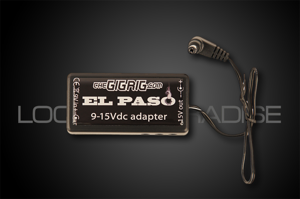 The GigRig El Paso 9-15V DC adapter