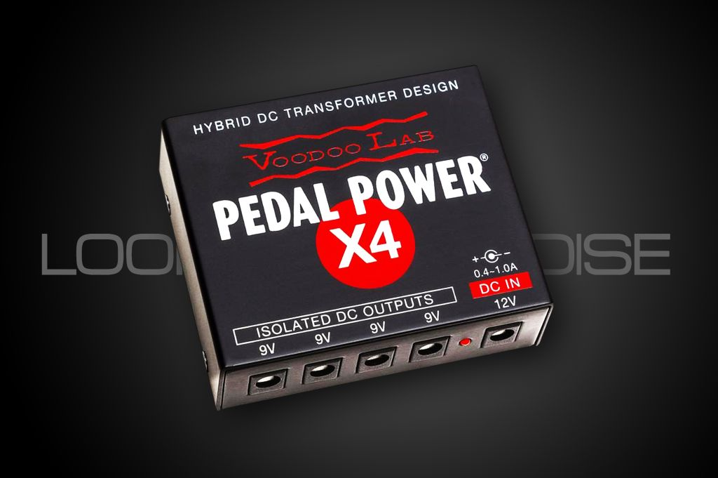 Voodoolab Pedal Power X4