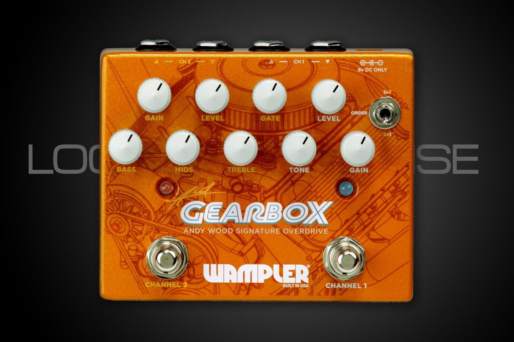 Wampler Pedals Wampler Gearbox Andy Wood Signature Pedal