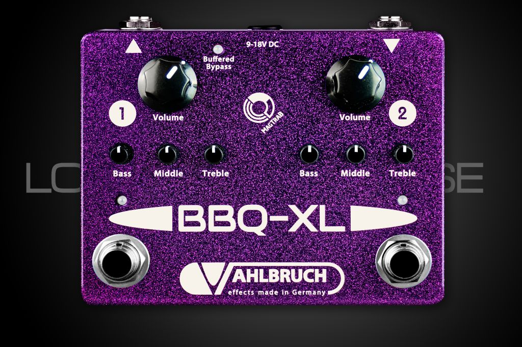 Vahlbruch FX Effects BBQ-XL Buffer Booster Equalizer