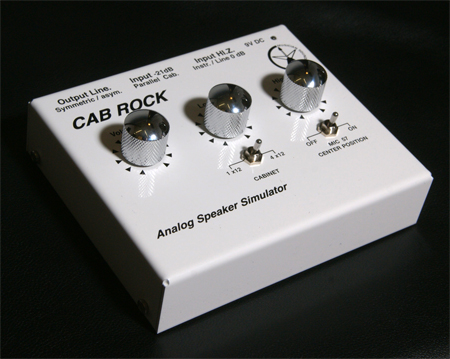 Musician Sound Design Cab Rock