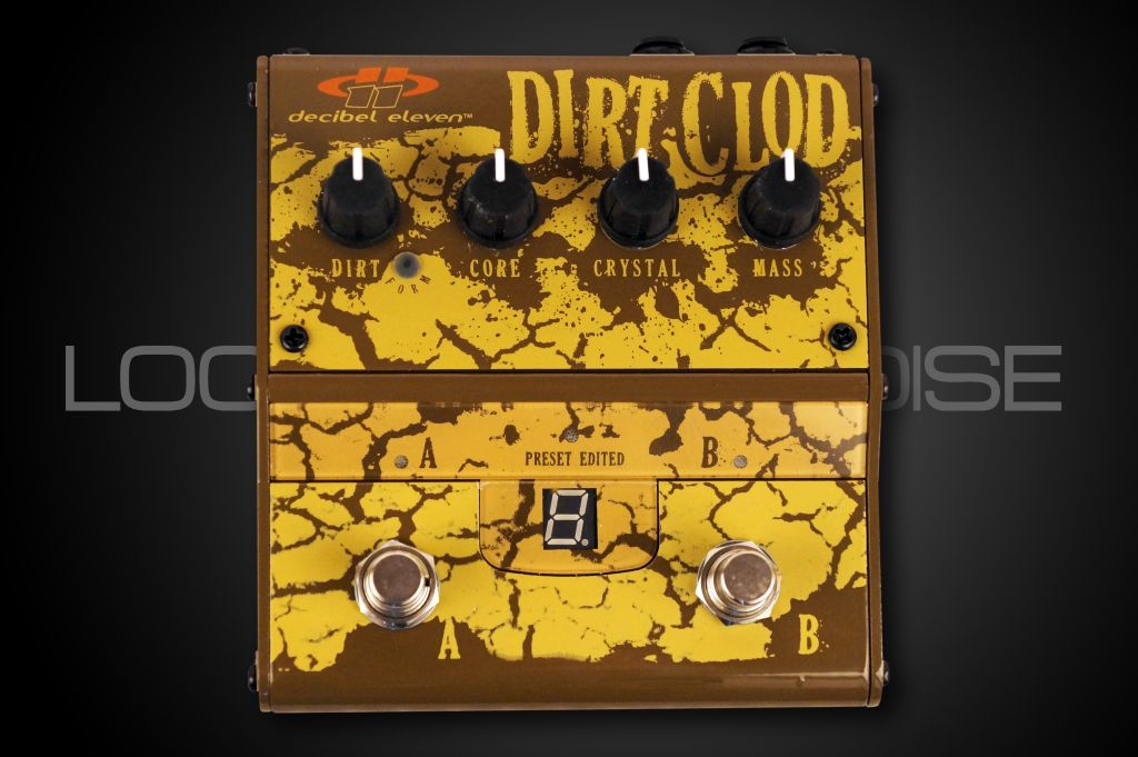 Decibel Eleven Decibel Eleven Dirt Clod Overdrive Distortion