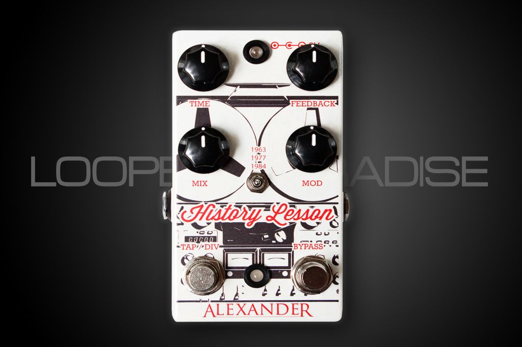 Alexander Pedals Alexander History Lesson