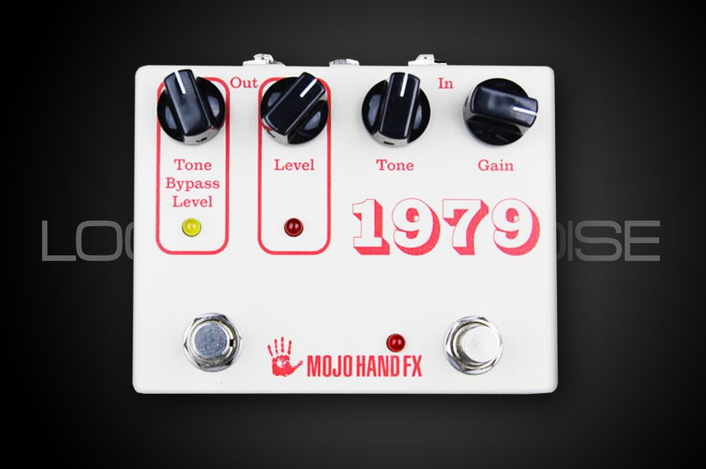 Mojo Hand FX 1979 - 70's-Style Op-Amp Fuzz w/ Tone Bypass