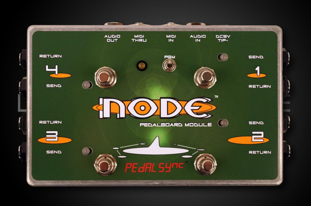 Molten Voltage NODE 4-Loop MIDI PedalBoard Switch