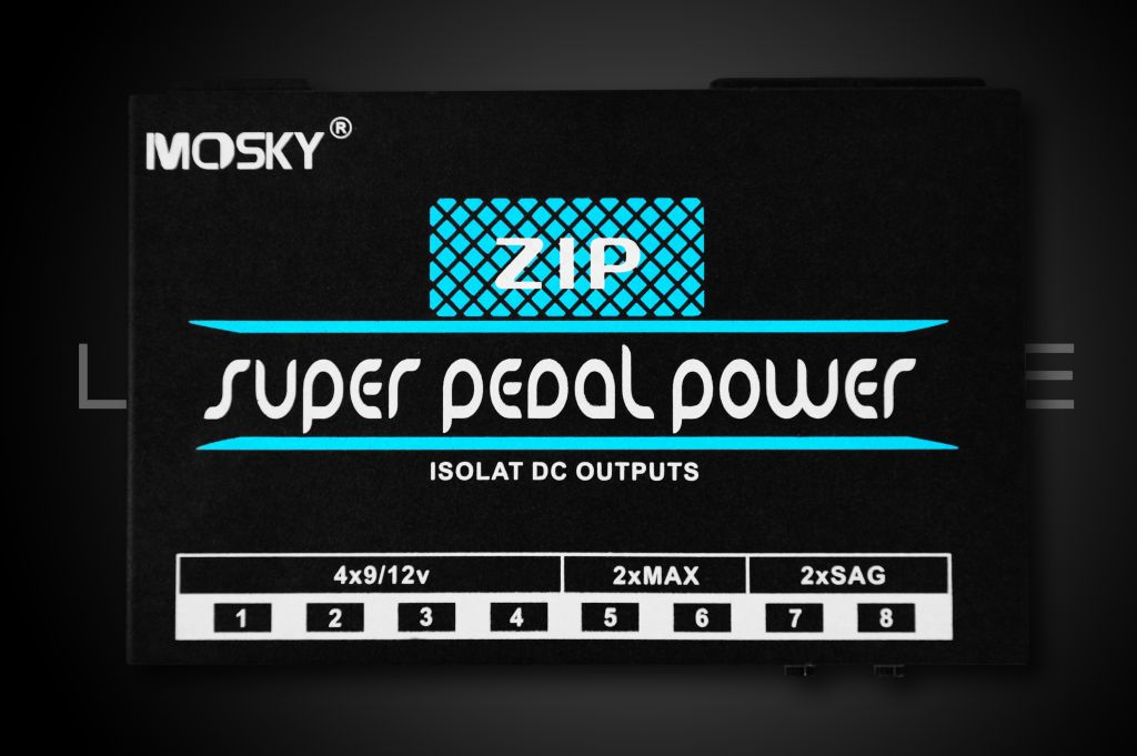 Mosky ZIP Isolated Pedal Power Supply
