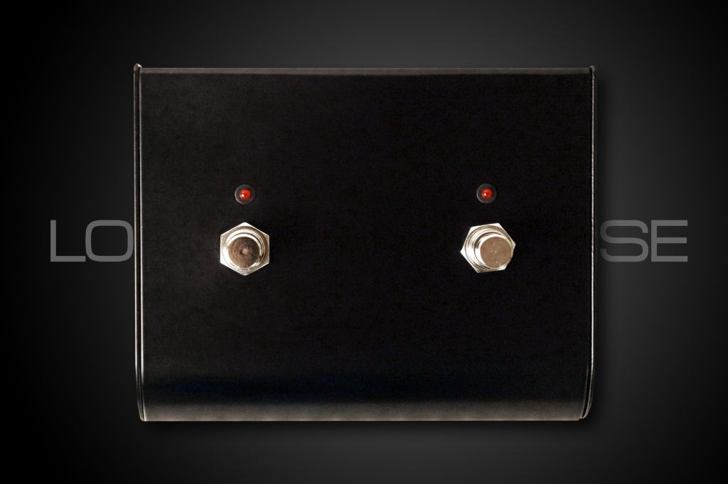 RJM Music Two Button External Switch