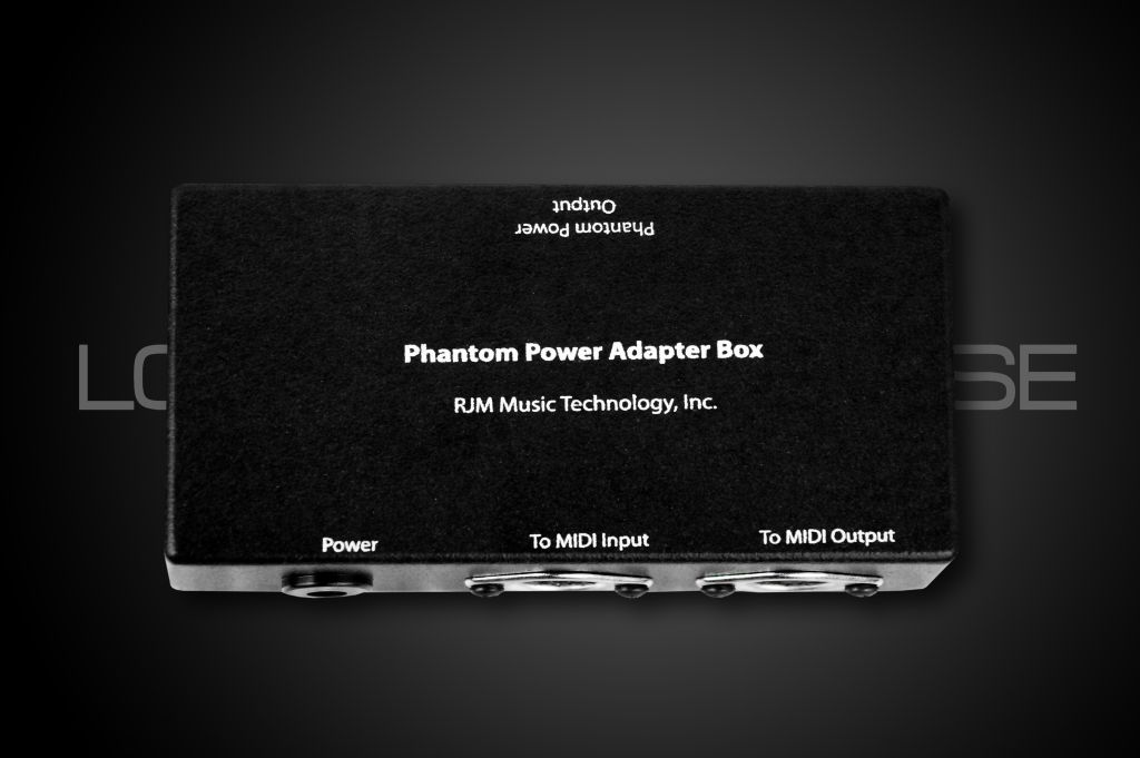 RJM Music Phantom Power Adapter - DIN7F (two inputs) for Kemper