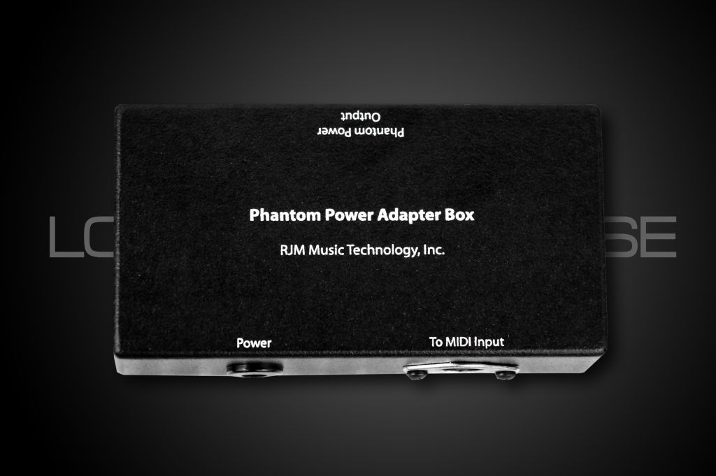 RJM Music Phantom Power Adapter - XLR6 (one input) for Axe-FX