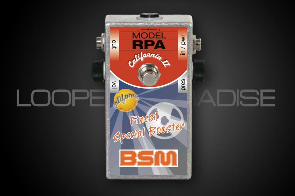 BSM RPA California II Special Booster